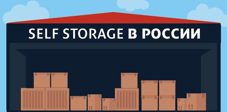 Российский рынок Self Storage в цифрах