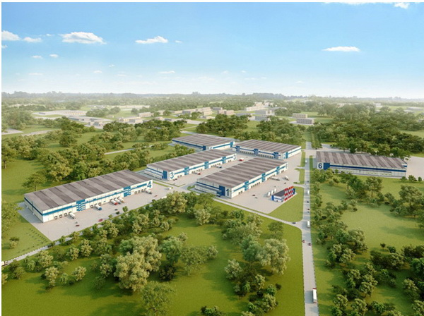 TGC is building a logistics park in Moscow region logistics park