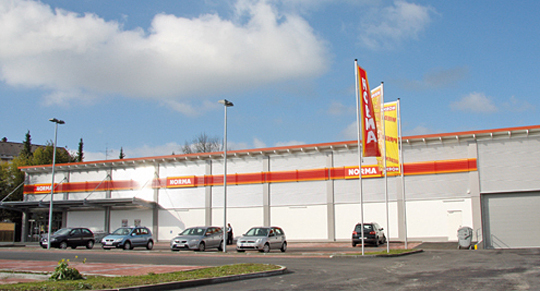 Norma shop in Augsburg will have a new logistics complex «Norma»