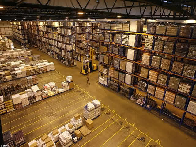 Active construction of warehouse real estate in Germany warehouse real estate