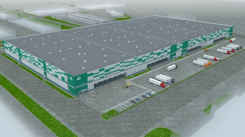 "Finance Group ""GHP Group"" built a warehouse in ""Tomilino"" multi-functional complex warehouse"