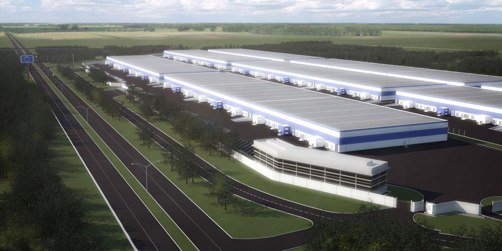 Иностранные компании строят неподалеку от Толмачево новые склады