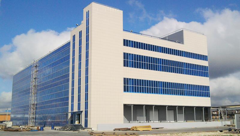 В Щелкове построен новый складской комплекс