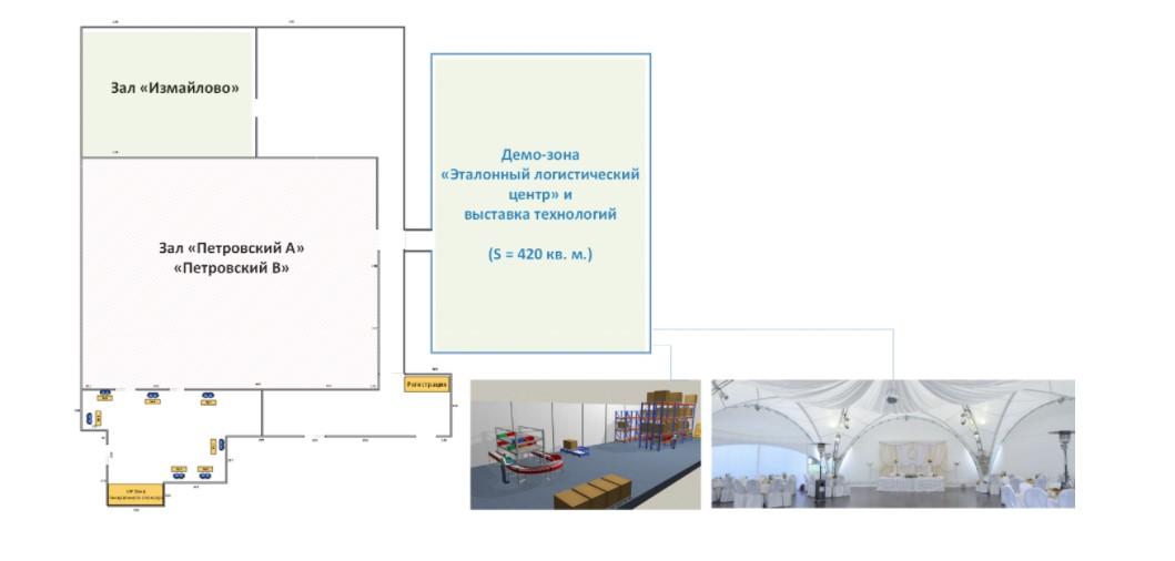 Демо-зона инновационных технологий и эталонный Логистический центр в новом формате XXI Московского Международного Логистического Форума
