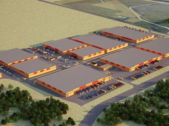 New manufacturing warehousing complex is to appear in Moscow vicinity  warehousing complex