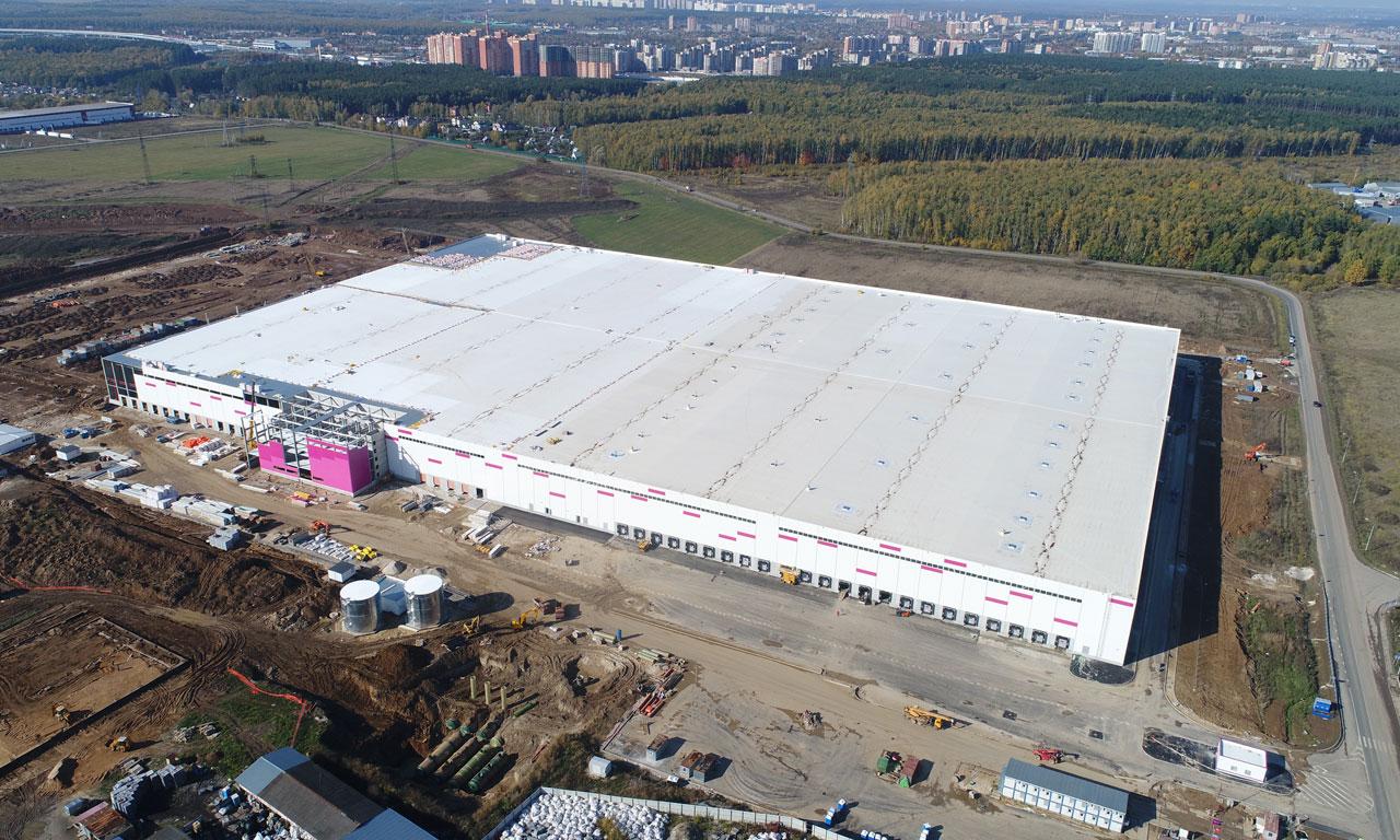 Новый склад для дикой ягоды в деревне Коледино